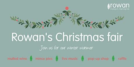 Rowan's Christmas fair tickets