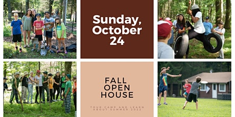 Camp Galil Fall (In-Person) Open House tickets