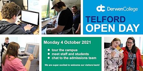 Derwen at Telford Open Evening - Monday 4th October 2021 tickets