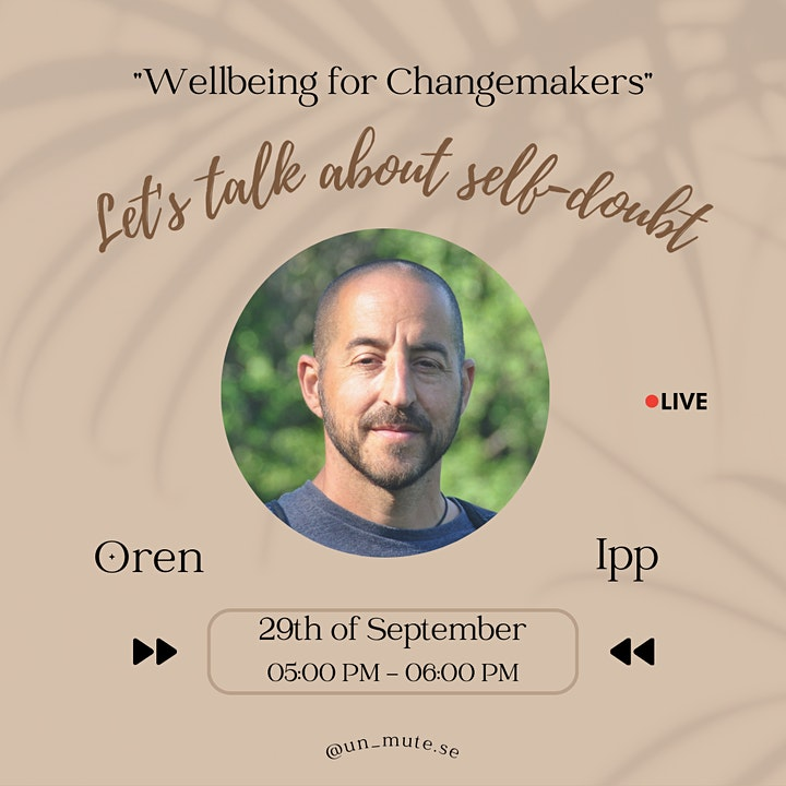 Wellbeing For Changemakers : Let's Talk About Self-Doubt image