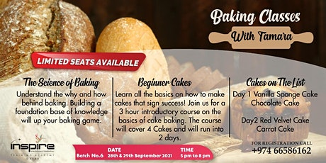 Baking Classes  With Tamara tickets