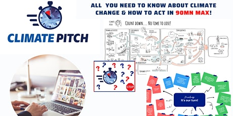 Climate Pitch Quiz - All you need to know about Climate Change & How to act tickets