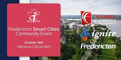 Fredericton Smart Cities Community Event tickets