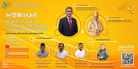 Webinar Hari Statistik Nasional BPS Provinsi Kalimantan Selatan tickets