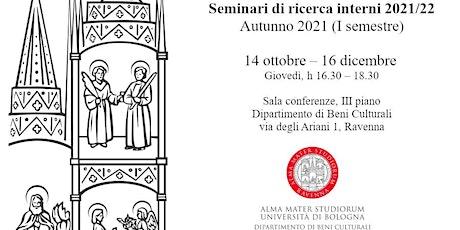 Seminari di Ricerca interni - DBC Ravenna biglietti