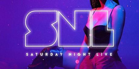 SaturdayNight Live  September 25th 10pm-2am FREE B4 12am w/RSVP tickets