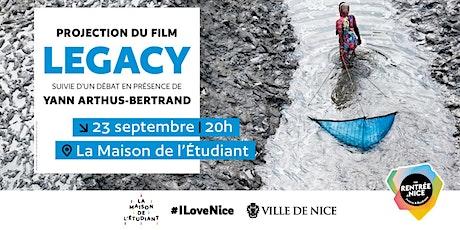 """Projection du film """"Legacy"""" et débat en présence de Yann-Arthus Bertrand billets"""