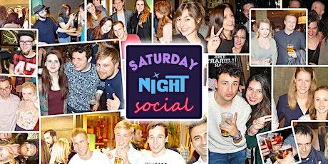 Saturday Night Social tickets