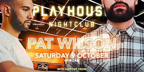 Play House Presents... Pat Wilson x Kenzie tickets