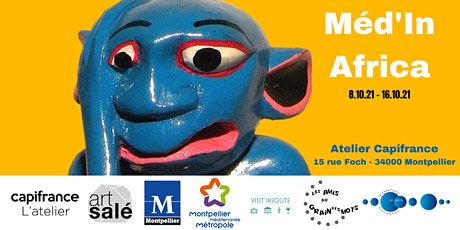 Vernissage Exposition Méd'in Africa billets