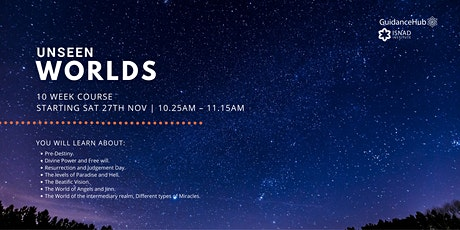 Unseen Worlds - (Every Sat from 27th Nov | 10 Weeks | 10:25AM) tickets