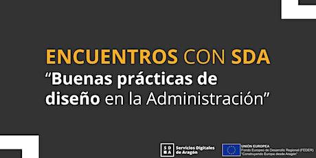 Encuentros con SDA: buenas prácticas de diseño en la administración entradas