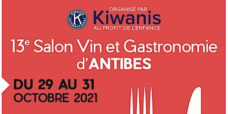 13ème Salon du Vin et de la Gastronomie d'Antibes billets