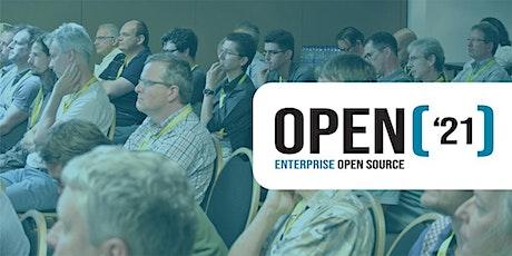 OPEN'21 - Enterprise Open Source Conference billets