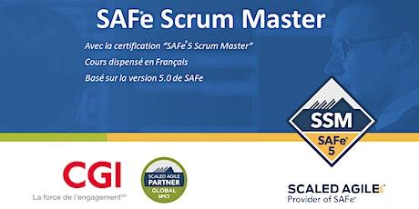 SAFe® Scrum Master (5.1) en français billets