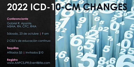 2022 ICD-10-CM Changes | Virtual Meeting (Zoom) tickets