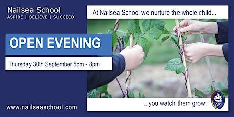 Nailsea School Year 6 Open Evening tickets
