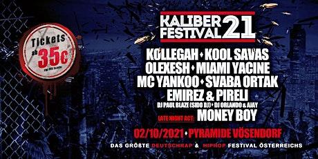 KALIBER 21 - Das große Deutschrap & HipHop Festival Tickets