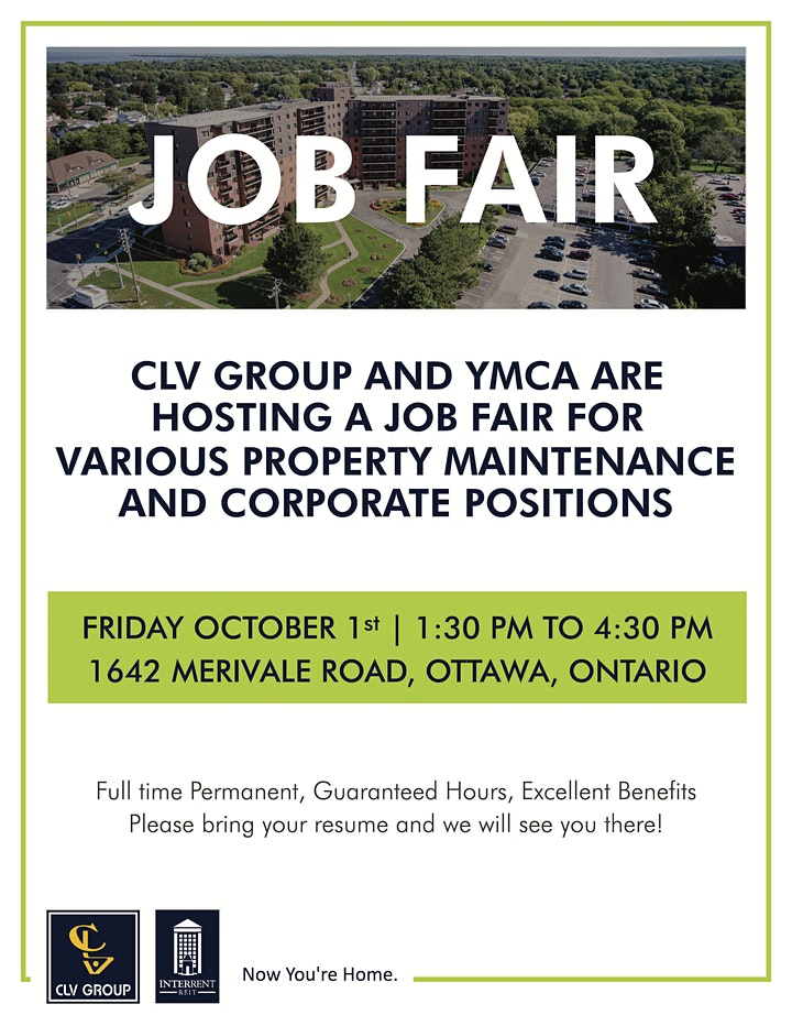 CLV Group and InterRent REIT In-Person Hiring Event! image