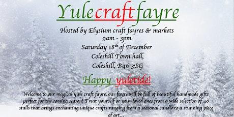 Yule craft fayre tickets