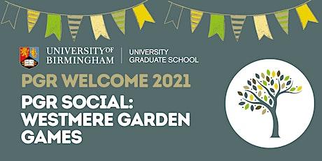 PGR Social: Westmere Garden Games tickets
