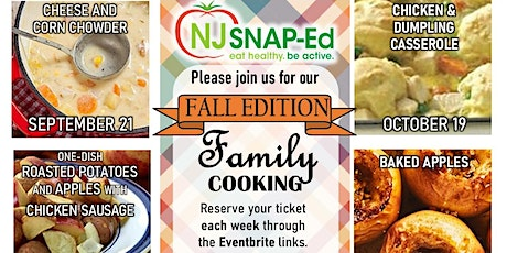 September Family Cooking Class  Fall Edition tickets