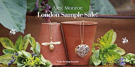 Alex Monroe London Sample Sale tickets