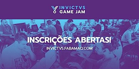 INVICTVS GAME JAM 2021 bilhetes