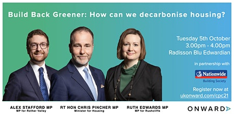 Build Back Greener: How can we decarbonise housing? tickets