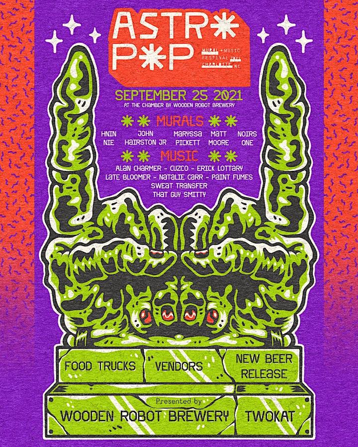 Astro Pop Mural + Music Festival image