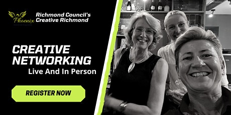 Live networking for creative business owners in Richmond. tickets
