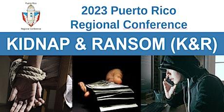 Kidnap & Ransom (K&R) - Curso virtual por ZOOM entradas