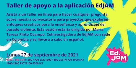 Taller de apoyo a la aplicación EdJAM - Colombia tickets
