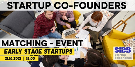 Startup Co-Founders Matching Event Tickets