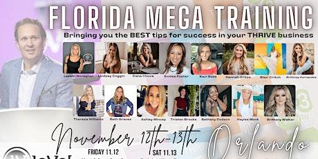 FL Mega Training- Saturday tickets