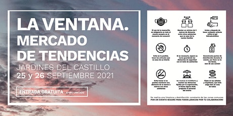 """Talleres """"La Ventana. Mercado de Tendencias"""" 2021 entradas"""