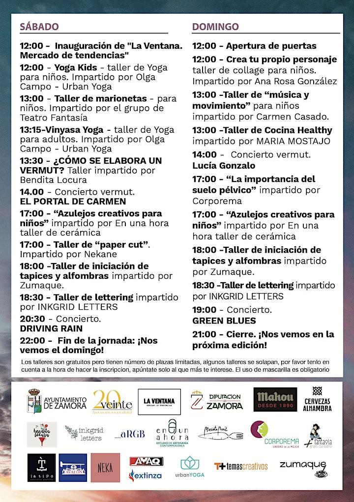 "Imagen de Talleres ""La Ventana. Mercado de Tendencias"" 2021"