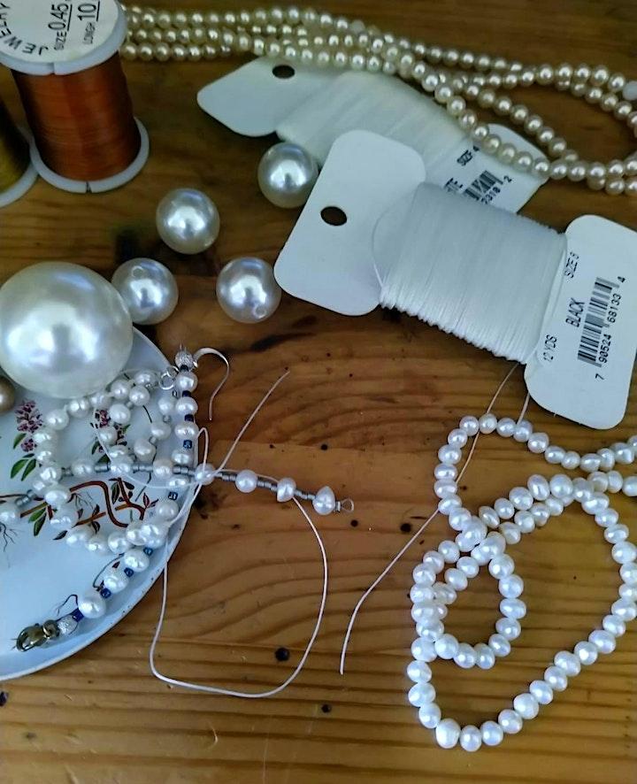 Pearl Jewellery Making Class with  tea treats -  Temple Bar image
