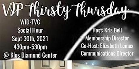 WID-TVC Thirsty Thursday Membership Social tickets