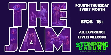The *Free* Monthly Improv Jam! tickets