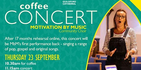Free Coffee Concert for MacMillan tickets