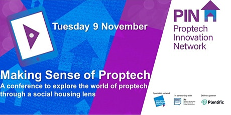 Making sense of Proptech in Social Housing annual conference tickets