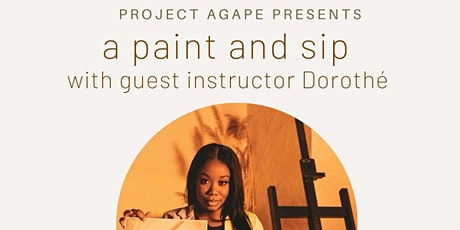 A Paint and Sip with Project Agape tickets