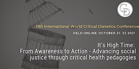 World Critical Dietetics Conference 2021 tickets