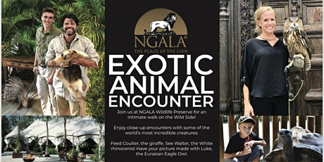 Exotic Animal Encounter and Day Tour tickets