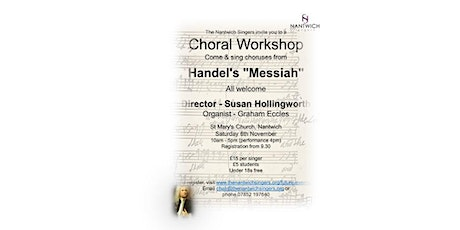 Choral Workshop: Come & Sing choruses from Handel's Messiah tickets