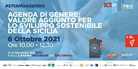 Agenda di genere: valore aggiunto per lo Sviluppo sostenibile della Sicilia biglietti