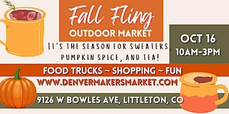 Fall Outdoor Market tickets