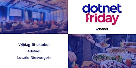 4Dotnet - DotnetFriday Meetup tickets