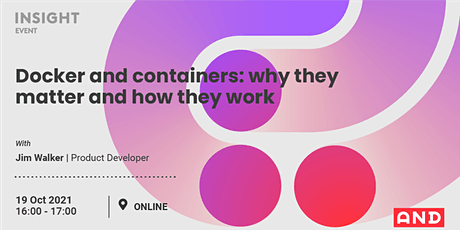 Docker and containers: why they matter and how they work tickets